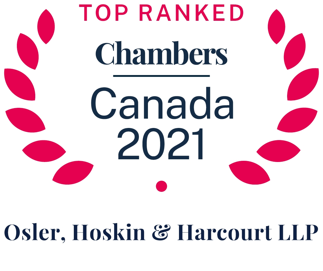 Top Ranked - Chambers Canada 2021