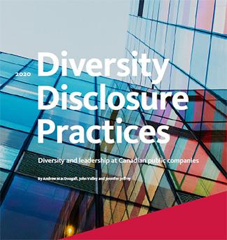 2020 Diversity Disclosure Practices