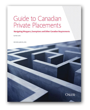 Canadian private placement investment options