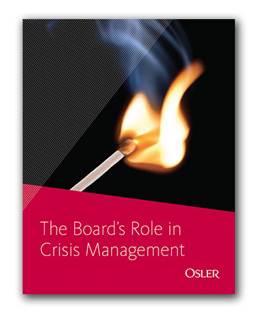 White paper: The Board's Role in Crisis Management