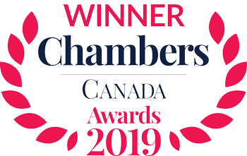 Winner: Chambers Canada Awards 2018