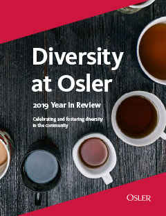 Diversity at Osler - 2019 Year in Review