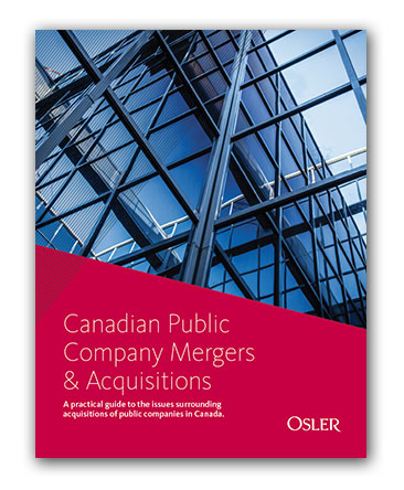 Canadian Public Company Mergers & Acquisitions: Guide