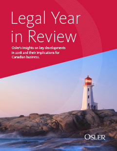 Legal Year in Review 2018