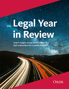 Legal Year in Review 2019