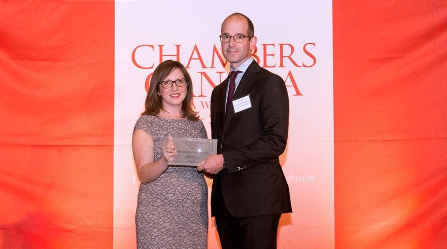 Top corporate law firm in Canada: Osler recognized