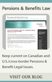 Pensions & Benefits Blog